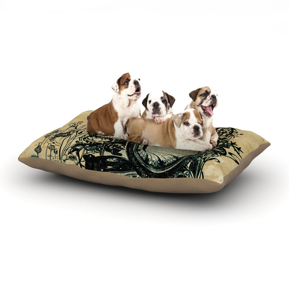 "Frederic Levy-Hadida ""Sound of Nature"" Dog Bed - KESS InHouse  - 1"