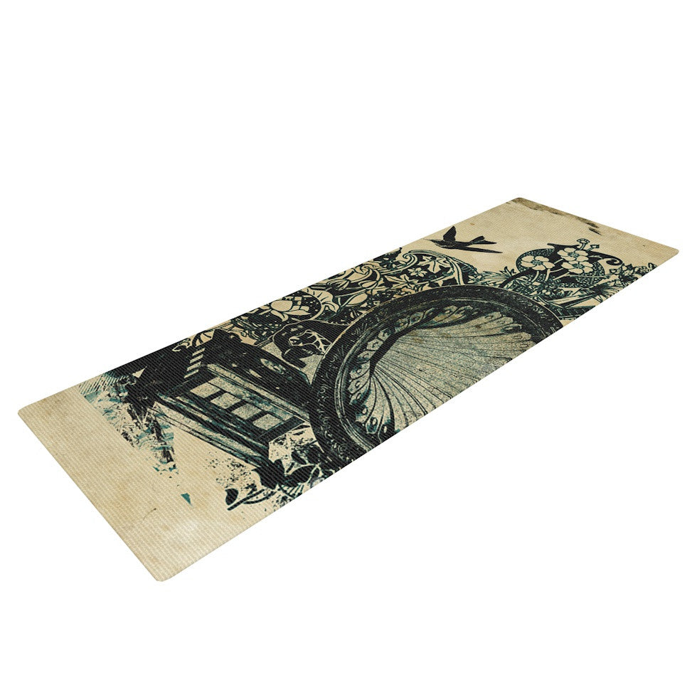 "Frederic Levy-Hadida ""Sound of Nature"" Yoga Mat - KESS InHouse  - 1"