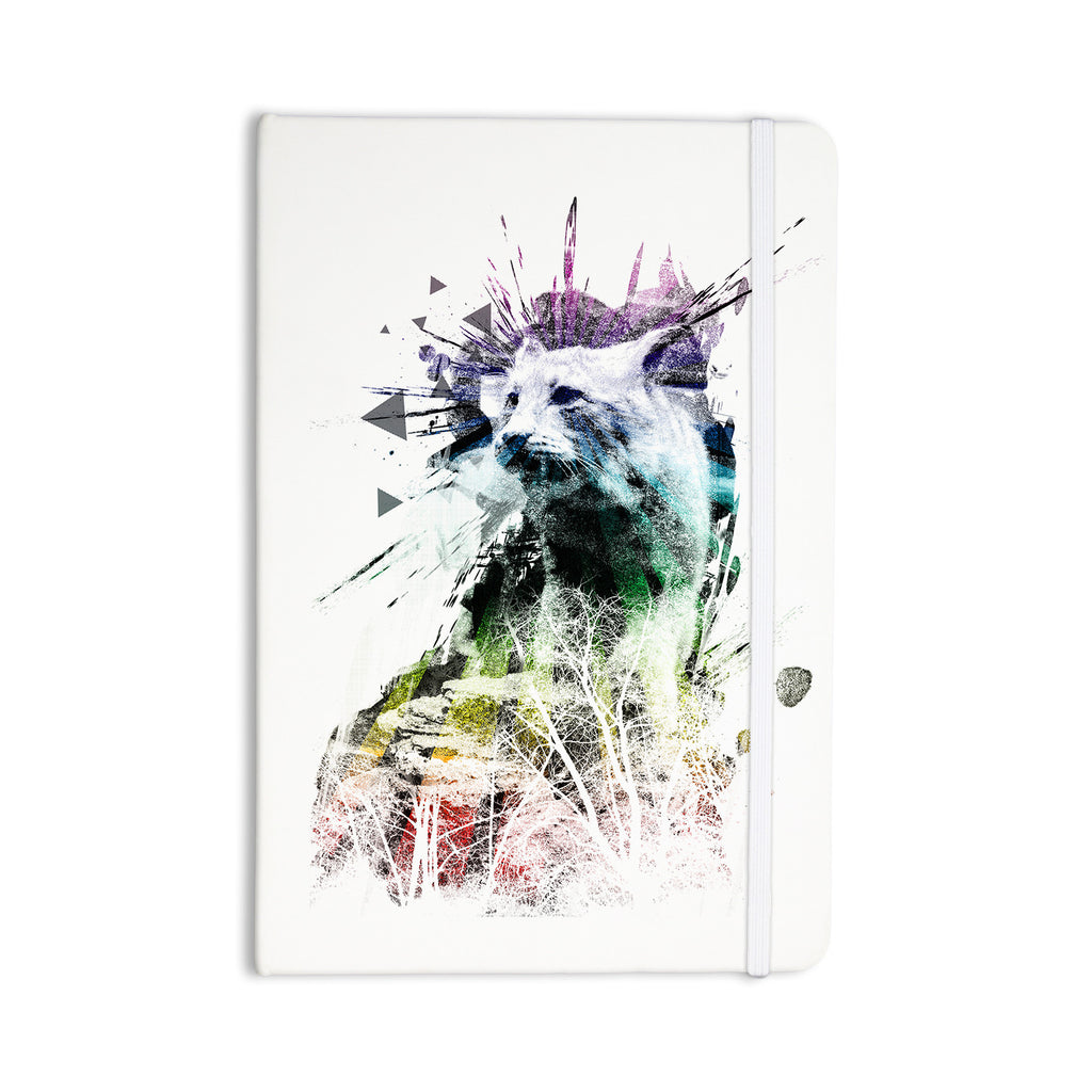 "Frederic Levy-Hadida ""Predation Instinct"" Multicolor Cat Everything Notebook - KESS InHouse  - 1"