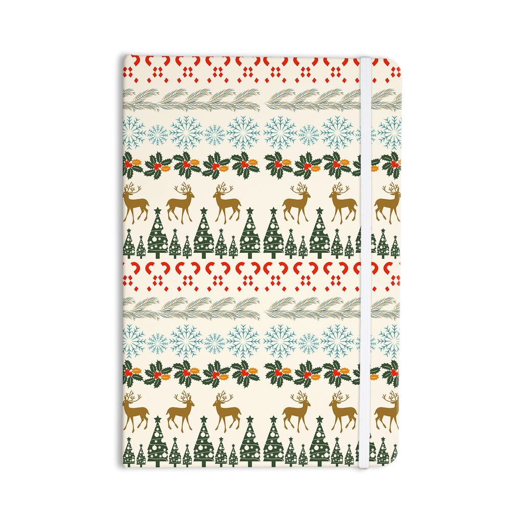 "Famenxt ""Christmas Vibes"" Holiday Pattern Everything Notebook - KESS InHouse  - 1"