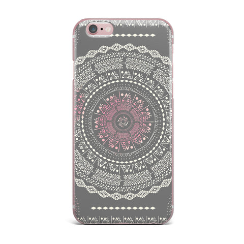 "Famenxt ""Culture Cut Boho Mandala"" Pink Ilustration iPhone Case - KESS InHouse"