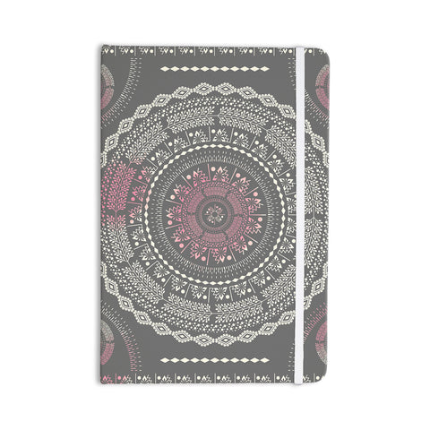 "Famenxt ""Culture Cut Boho Mandala"" Pink Ilustration Everything Notebook - KESS InHouse"