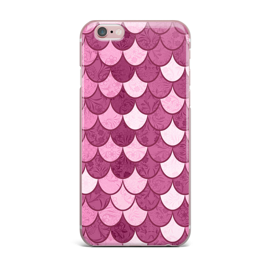 "Famenxt ""Pink Mermaid"" Pink Pattern Illustration iPhone Case - KESS InHouse"