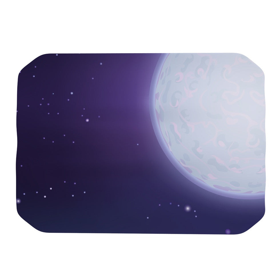 "Fotios Pavlopoulos ""Full Moon"" Night Sky Place Mat - KESS InHouse"