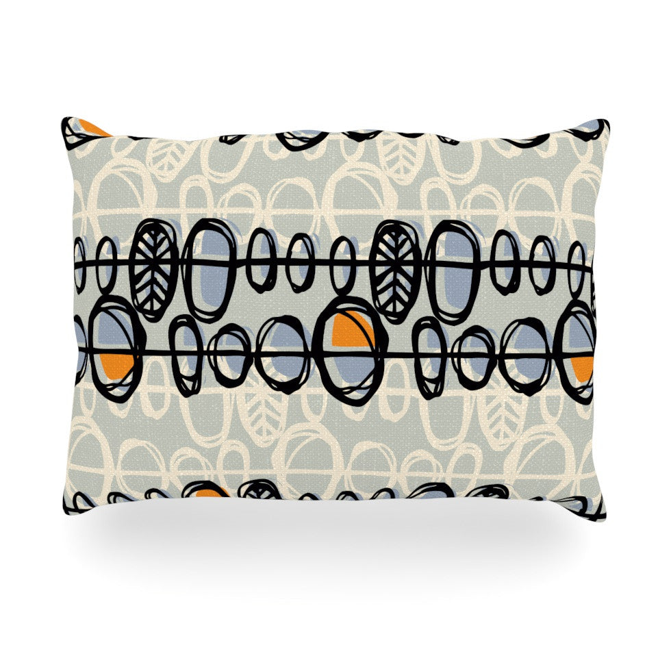 "Gill Eggleston ""Benin"" Oblong Pillow - KESS InHouse"