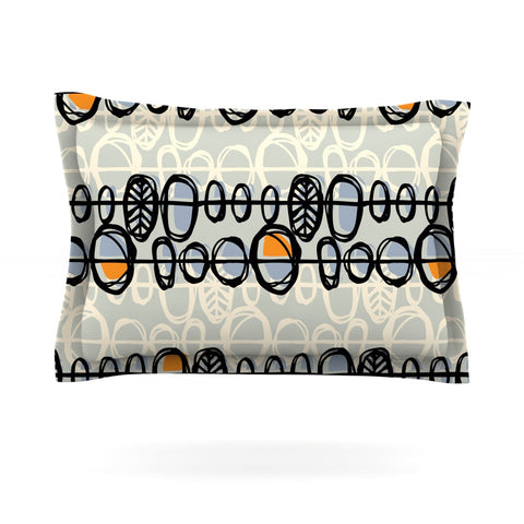 "Gill Eggleston ""Benin"" Pillow Sham - Outlet Item"