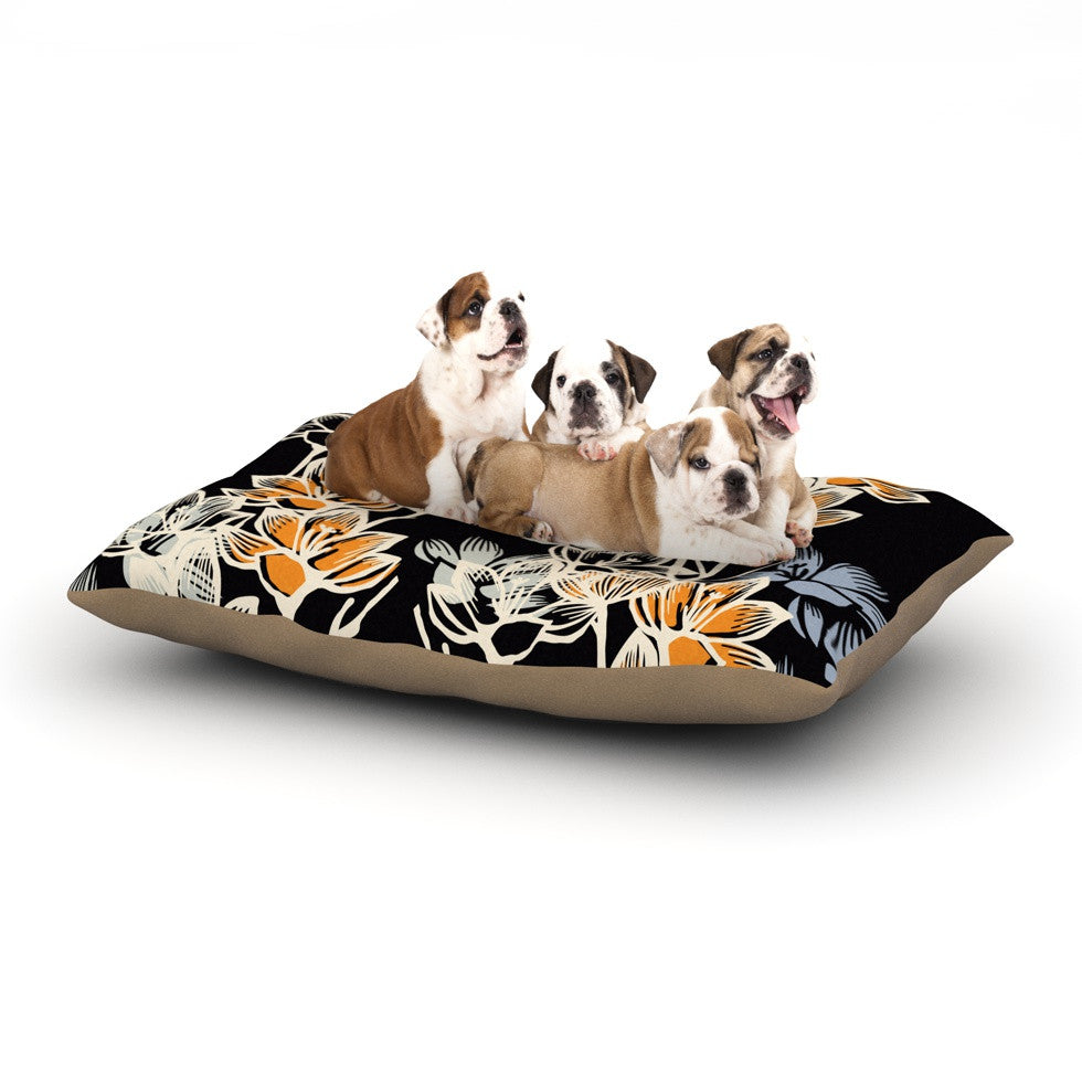 "Gill Eggleston ""Crocus"" Dog Bed - KESS InHouse  - 1"