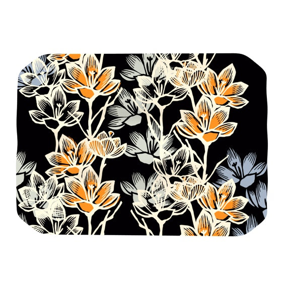 "Gill Eggleston ""Crocus"" Place Mat - KESS InHouse"