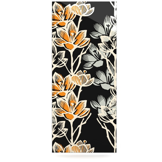 "Gill Eggleston ""Crocus"" Luxe Rectangle Panel - KESS InHouse  - 1"