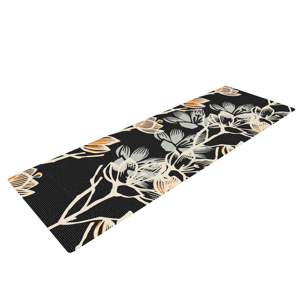 "Gill Eggleston ""Crocus"" Yoga Mat - KESS InHouse  - 1"