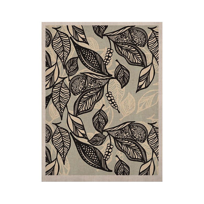 "Gill Eggleston ""Java Leaf"" KESS Naturals Canvas (Frame not Included) - KESS InHouse  - 1"