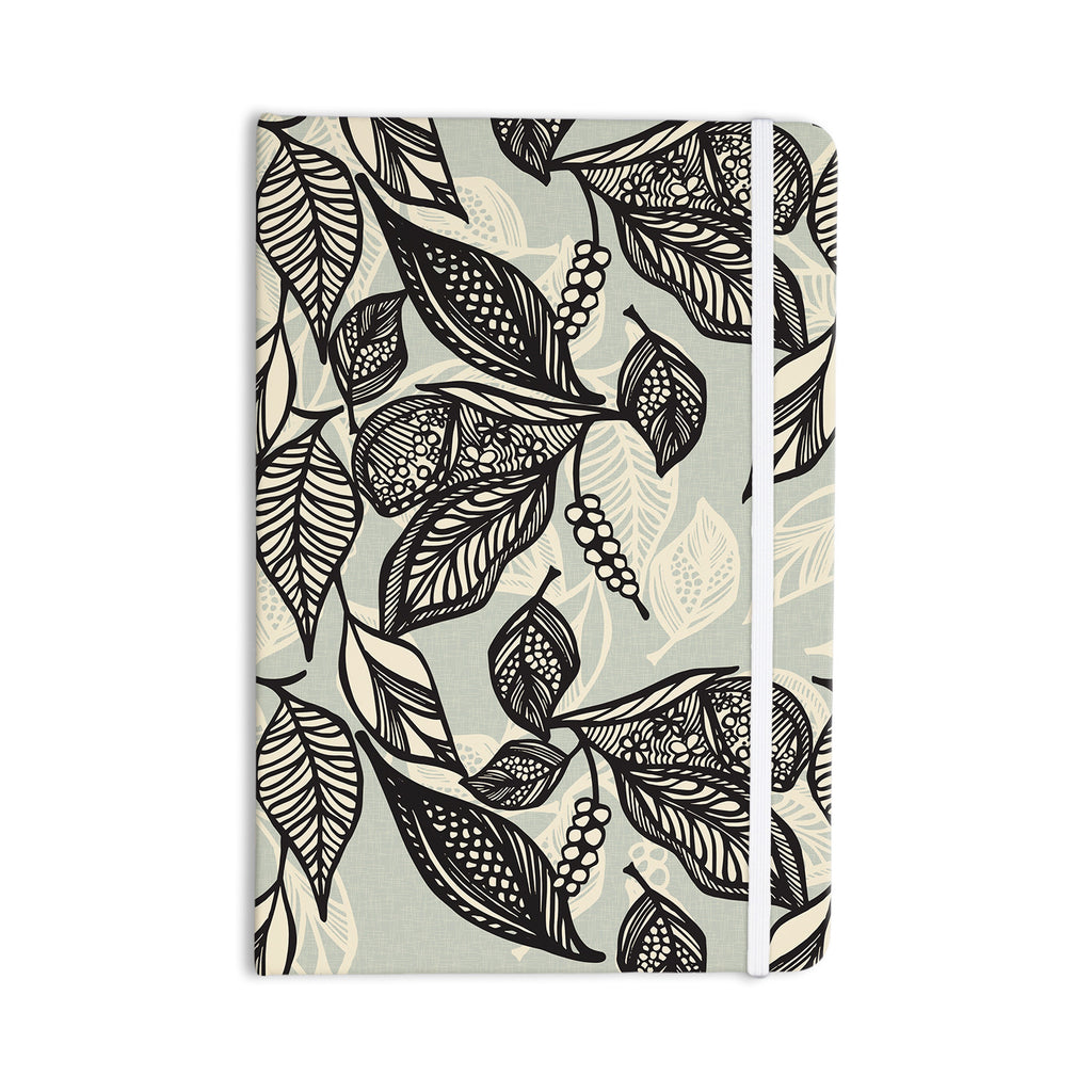 "Gill Eggleston ""Java Leaf"" Everything Notebook - KESS InHouse  - 1"