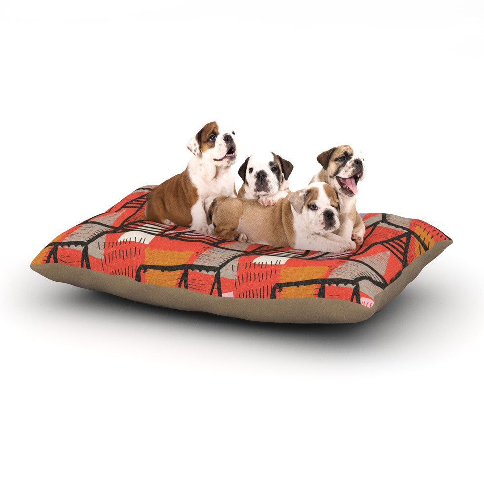"Gill Eggleston ""Arnaud"" Dog Bed - KESS InHouse  - 1"