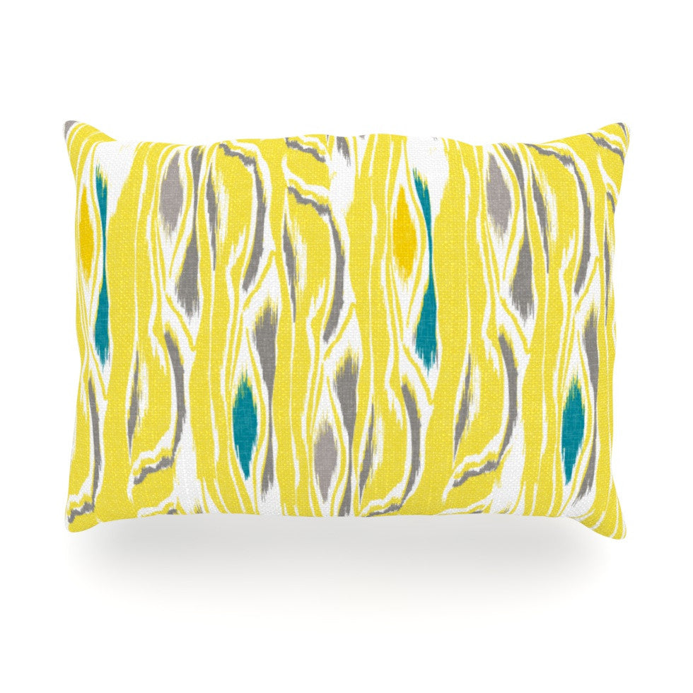 "Gill Eggleston ""Barengo Sunshine"" Oblong Pillow - KESS InHouse"