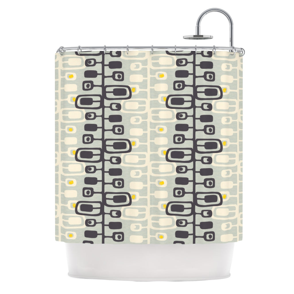 "Gill Eggleston ""Carnaby"" Shower Curtain - KESS InHouse"