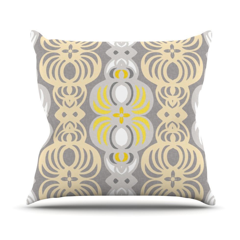 "Gill Eggleston ""Chalene"" Outdoor Throw Pillow - KESS InHouse  - 1"