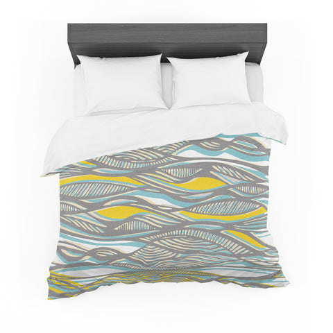 "Gill Eggleston ""Drift"" Featherweight Duvet Cover"