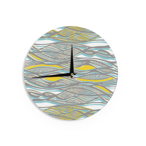 "Gill Eggleston ""Drift"" Wall Clock - KESS InHouse"