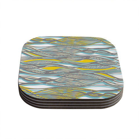 "Gill Eggleston ""Drift"" Coasters (Set of 4)"