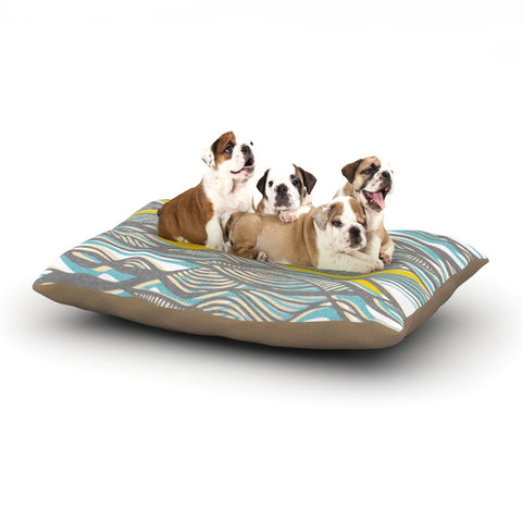 "Gill Eggleston ""Drift"" Dog Bed - KESS InHouse  - 1"
