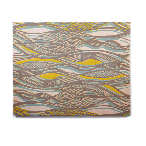 "Gill Eggleston ""Drift"" Birchwood Wall Art - KESS InHouse  - 1"