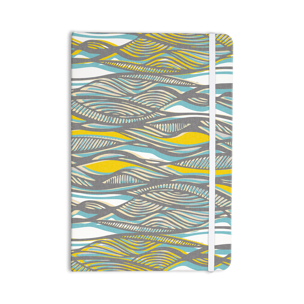 "Gill Eggleston ""Drift"" Everything Notebook - KESS InHouse  - 1"
