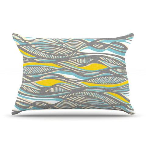 "Gill Eggleston ""Drift"" Pillow Sham - KESS InHouse"