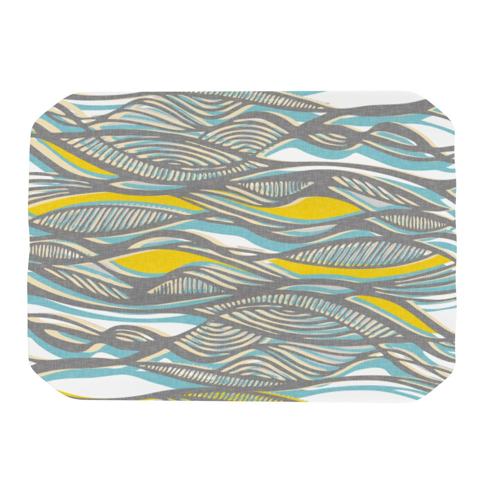 "Gill Eggleston ""Drift"" Place Mat - KESS InHouse"