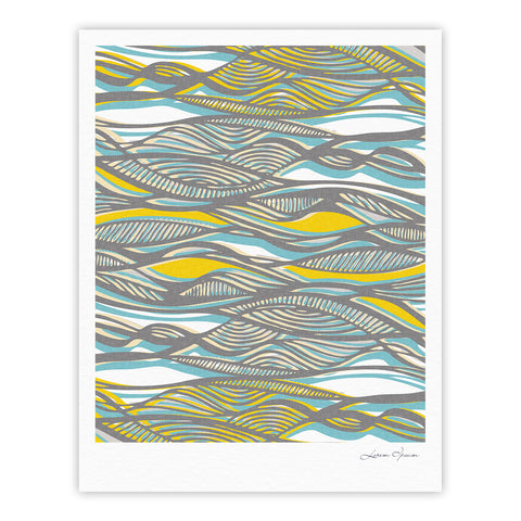 "Gill Eggleston ""Drift"" Fine Art Gallery Print - KESS InHouse"