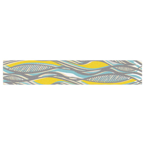 "Gill Eggleston ""Drift"" Table Runner - KESS InHouse  - 1"