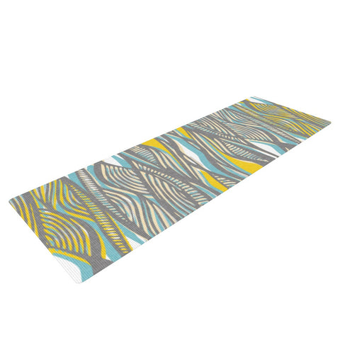"Gill Eggleston ""Drift"" Yoga Mat - KESS InHouse  - 1"