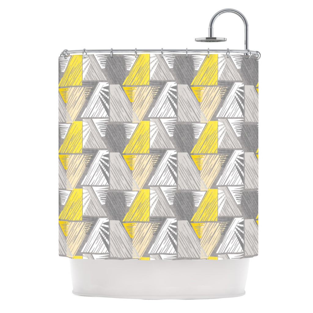 "Gill Eggleston ""Linford"" Shower Curtain - KESS InHouse"