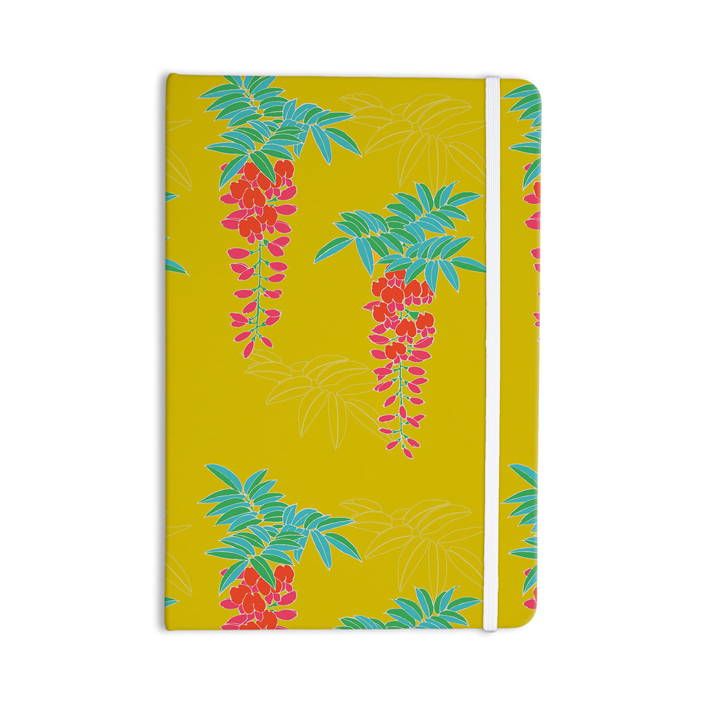 "Gukuuki ""Ipanema"" Yellow Everything Notebook - KESS InHouse  - 1"