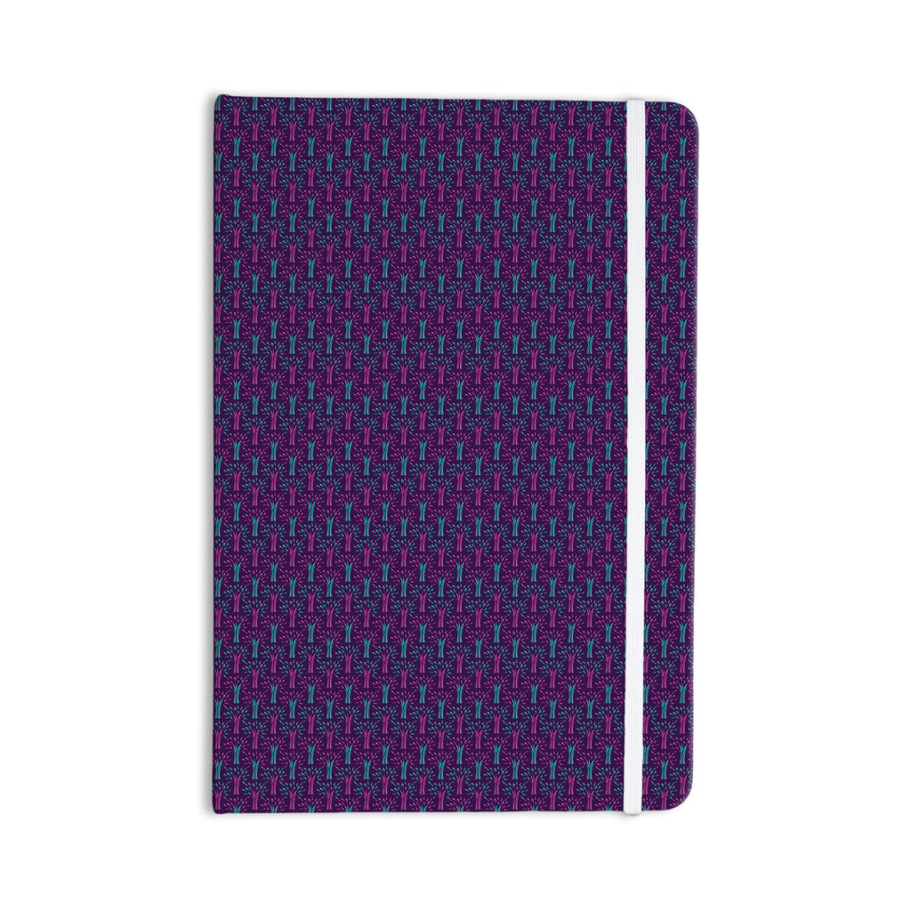 "Holly Helgeson ""Fairy Forest"" Blue Purple Everything Notebook - KESS InHouse  - 1"