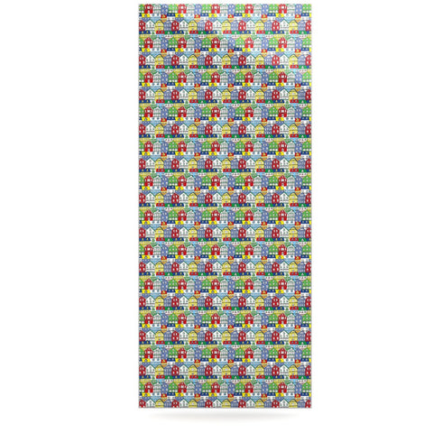 "Holly Helgeson ""Reykjavik"" Rainbow Pattern Luxe Rectangle Panel - KESS InHouse  - 1"