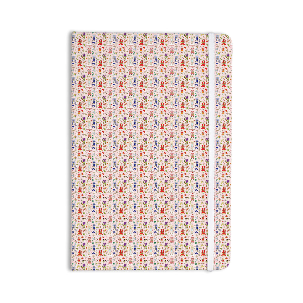 "Holly Helgeson ""Miss Ruby"" Pink Pattern Everything Notebook - KESS InHouse  - 1"