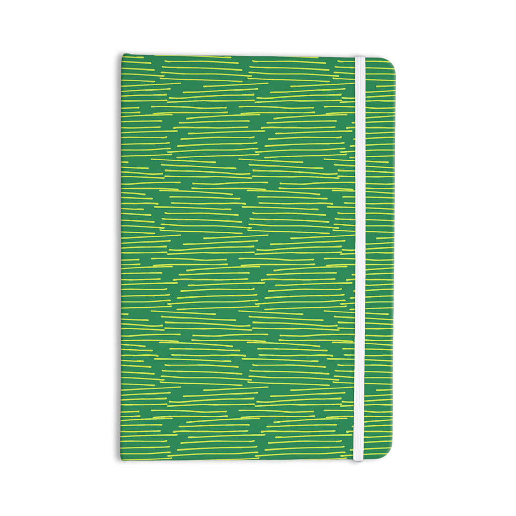 "Holly Helgeson ""Twiggy"" Green Line Everything Notebook - KESS InHouse  - 1"
