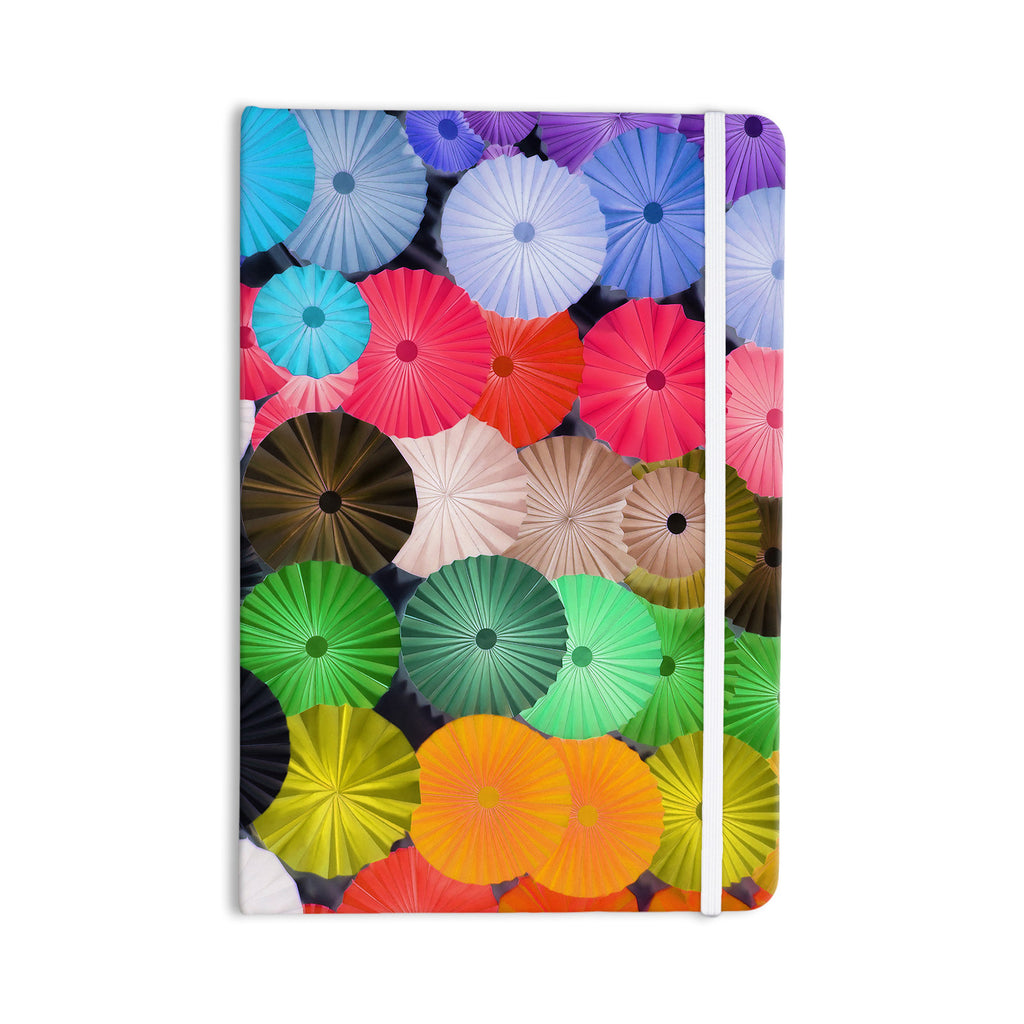 "Heidi Jennings ""Parasol"" Paper Circle Everything Notebook - KESS InHouse  - 1"