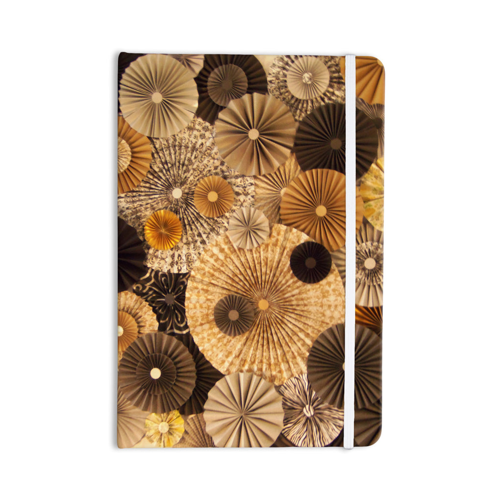 "Heidi Jennings ""Grounded"" Brown Paper Everything Notebook - KESS InHouse  - 1"