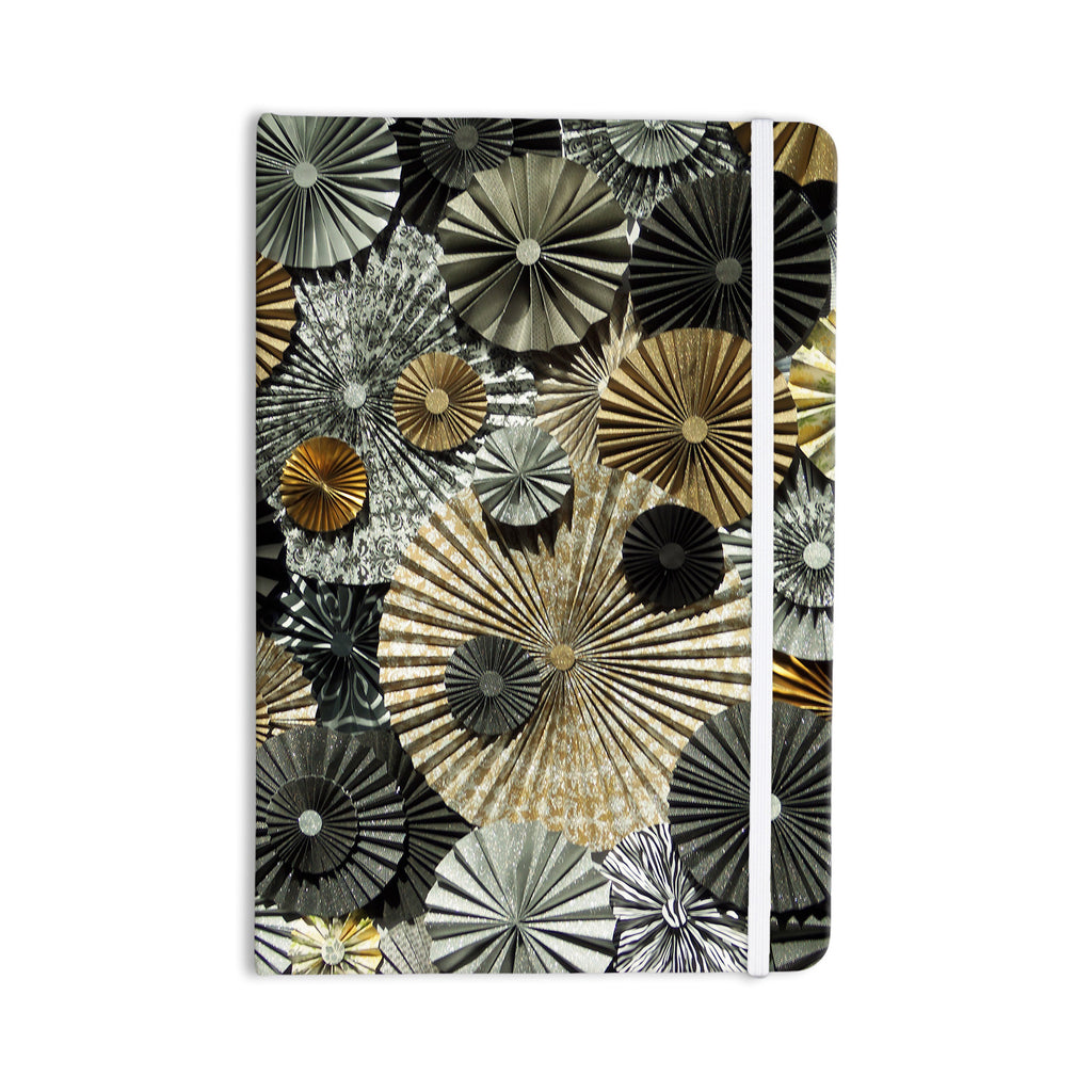 "Heidi Jennings ""All That Glitters"" Brown Glitter Everything Notebook - KESS InHouse  - 1"