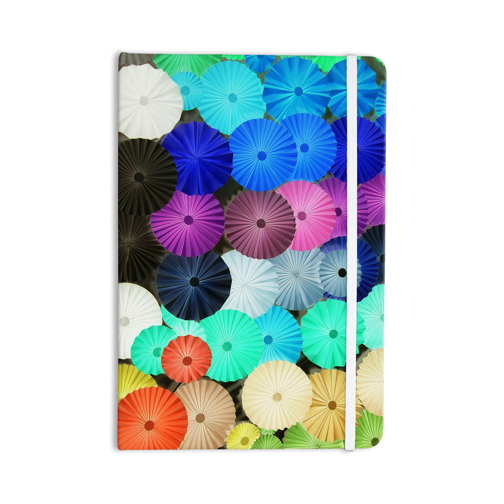 "Heidi Jennings ""Graceful"" Purple Teal Everything Notebook - KESS InHouse  - 1"
