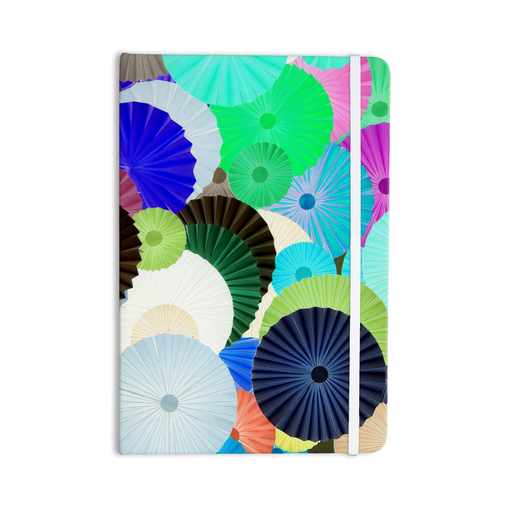 "Heidi Jennings ""Wonderland"" Teal Paper Everything Notebook - KESS InHouse  - 1"