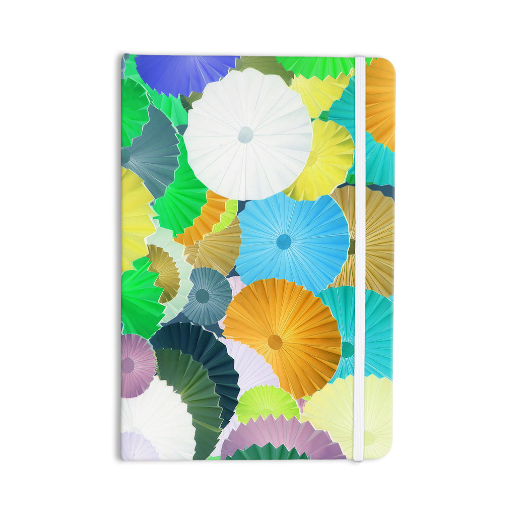 "Heidi Jennings ""Curiousity"" Cool Blue Everything Notebook - KESS InHouse  - 1"