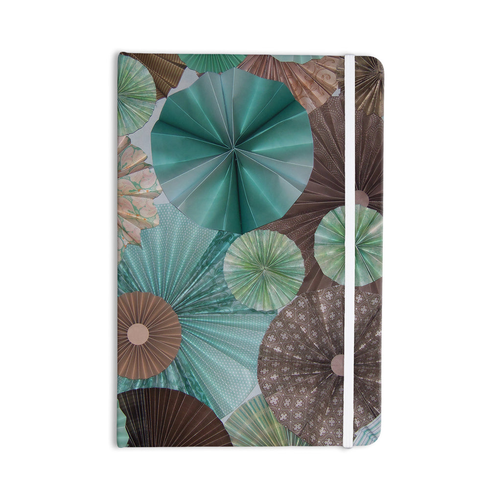 "Heidi Jennings ""Atlantis"" Teal Brown Everything Notebook - KESS InHouse  - 1"
