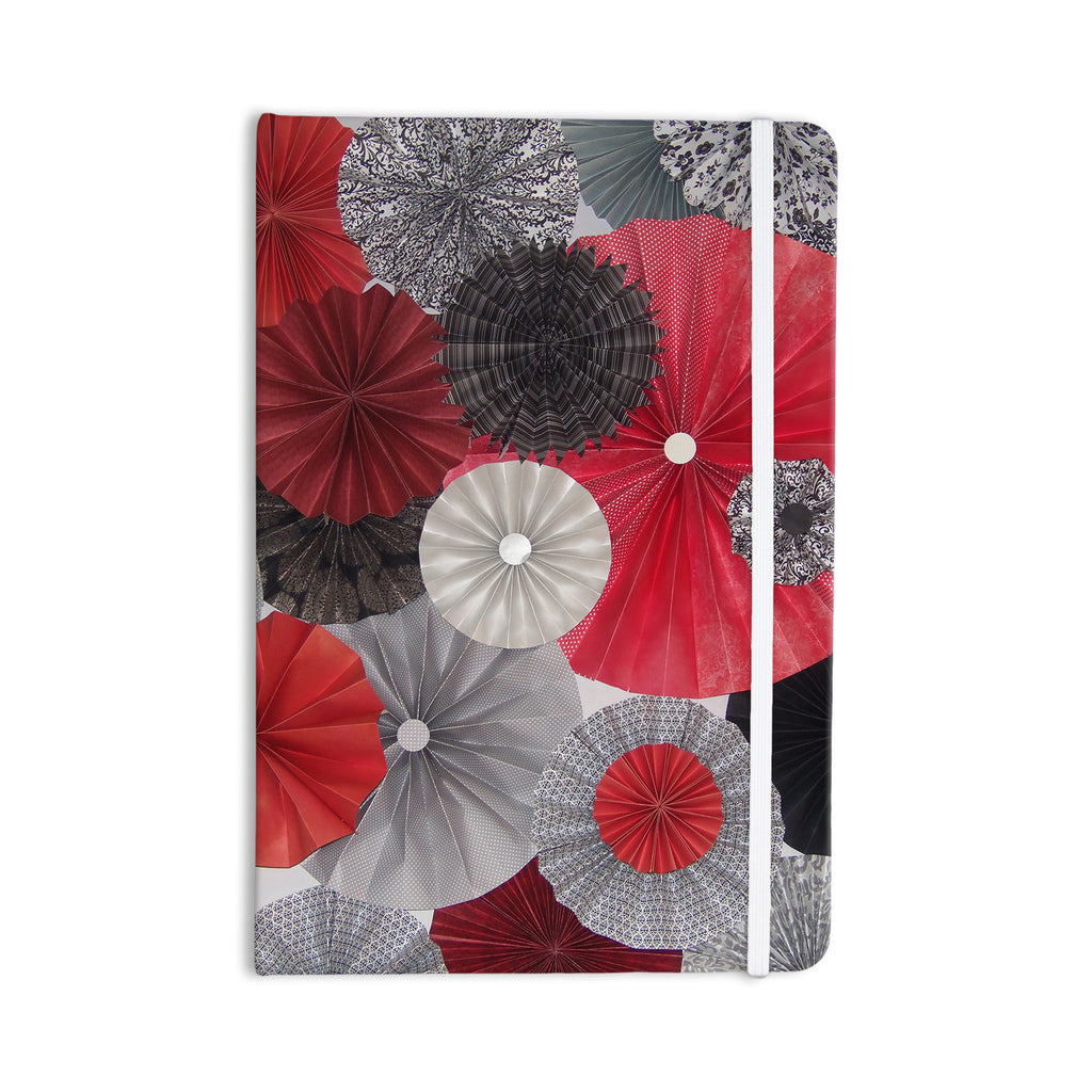 "Heidi Jennings ""Kyoto"" Red Black Everything Notebook - KESS InHouse  - 1"