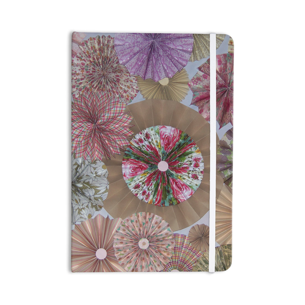 "Heidi Jennings ""Pink Lady"" Neutral Brown Everything Notebook - KESS InHouse  - 1"