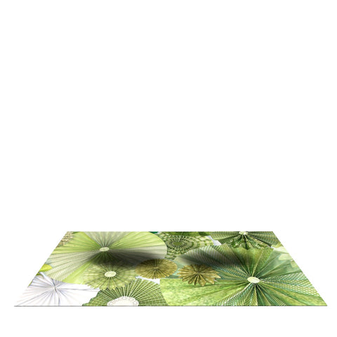 "Heidi Jennings ""Green Thumb"" Lime Dog Place Mat - Outlet Item"
