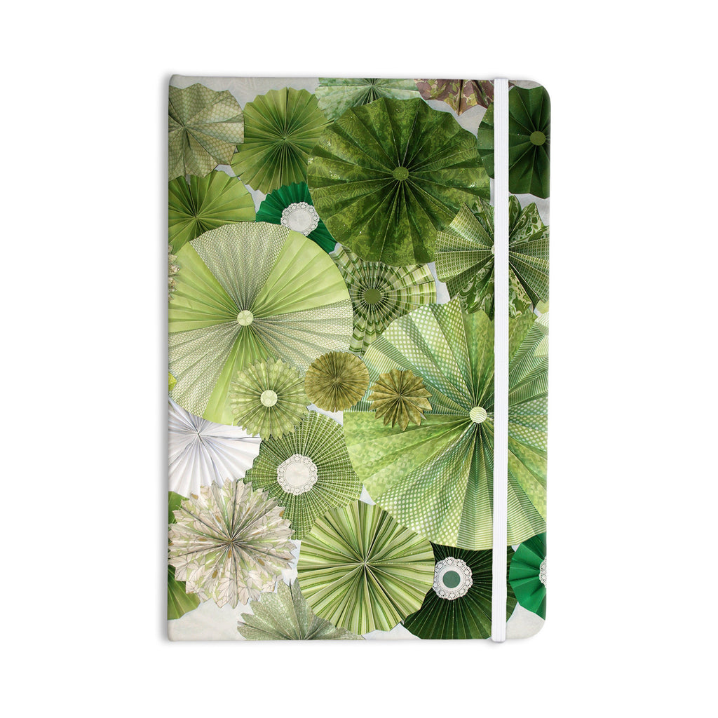 "Heidi Jennings ""Green Thumb"" Lime Everything Notebook - KESS InHouse  - 1"