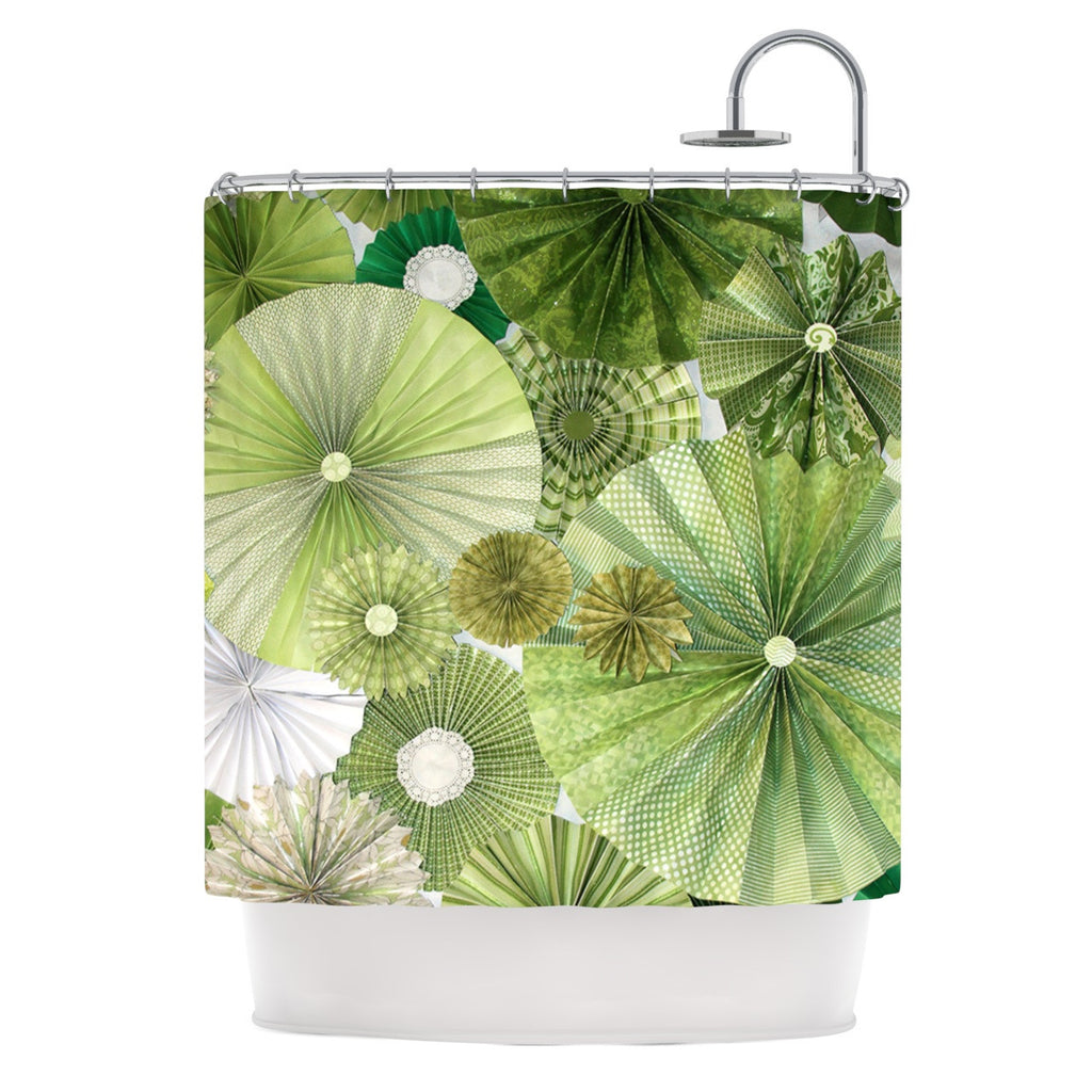 Green Thumb Shower Curtain By Heidi Jennings