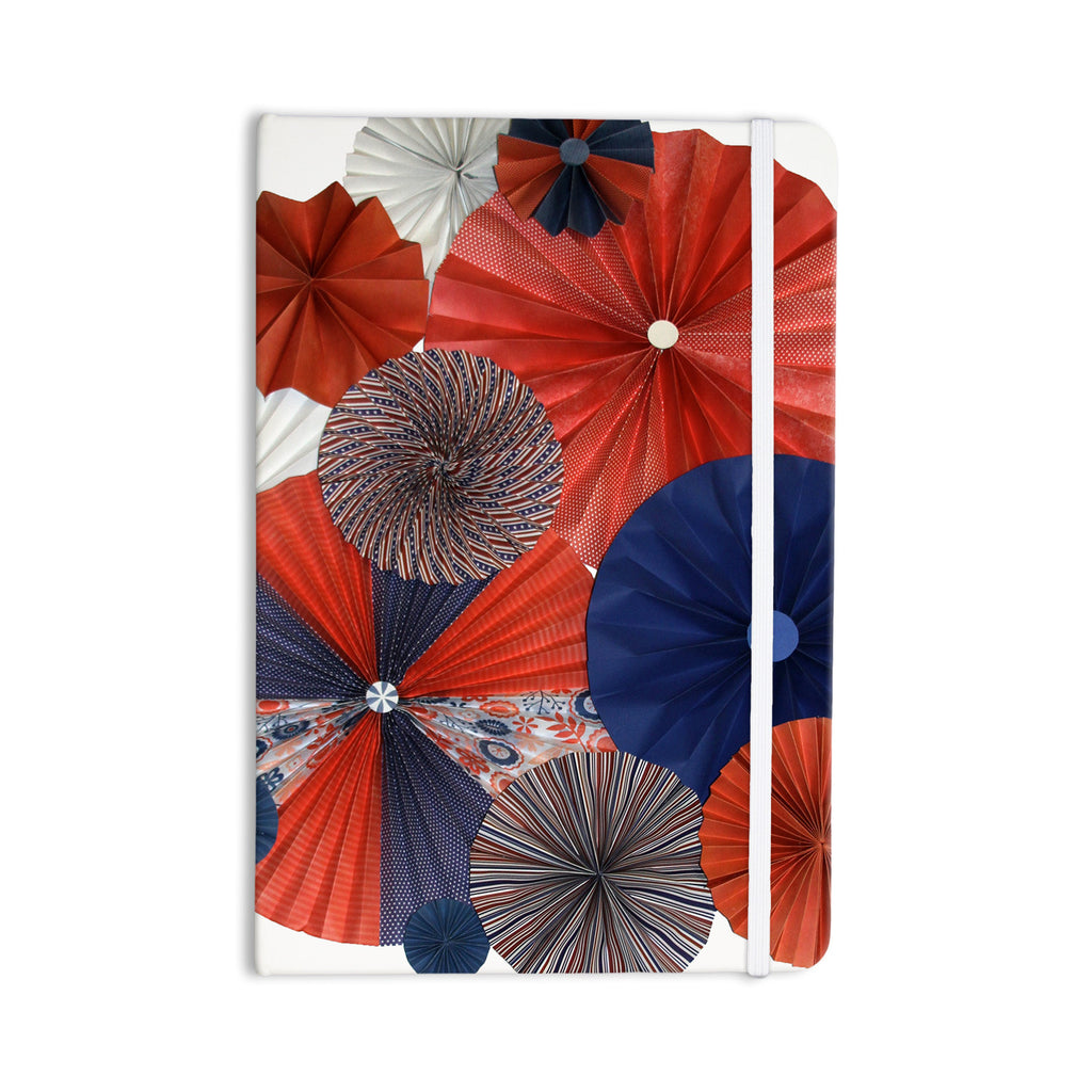 "Heidi Jennings ""Liberty"" Red Blue Everything Notebook - KESS InHouse  - 1"